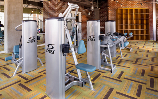 2125 Yale Expansive Fitness Center Houston TX - 19th Street Houston
