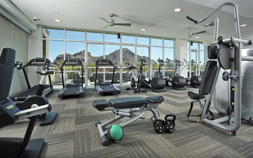 Arcadia Phoenix apartments - Citrine Fully equipped fitness center