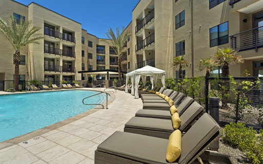 Apartments in arcadia az - Citrine Resort style heated pool and spa with sauna
