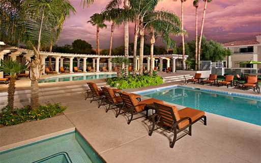 San Carlos Apartments for rent in North Scottsdale near TCP Golf Course - Two outdoor swimming pools