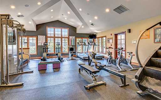 Apartments for rent in Downtown Redmond - The Lodge At Redmond Ridge Fully equipped 24 hour fitness center