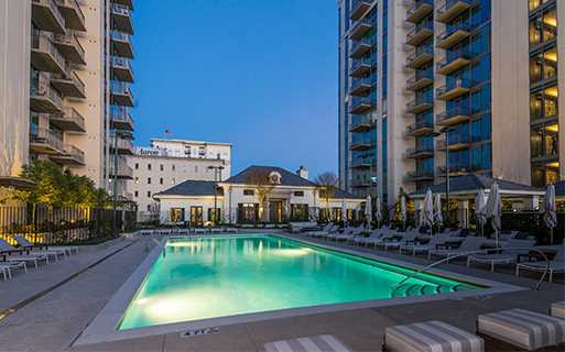 Buckhead Apts For Rent The Residence Atlanta Pool