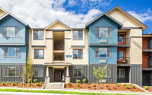 Beaverton OR Apartments For Rent near Elmonica MAX Station - Victory Flats Building air conditioning throughout