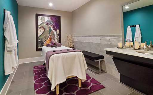 Charlotte apartments for rent - Silos South End - Relaxation massage room