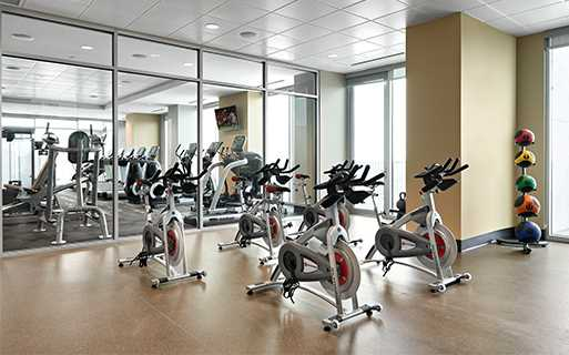 SkyHouse Nashville fitness studio Nashville TN - Downtown Nashville