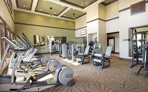 StoneLedge Apartments   Fitness Center   Keller Apartments