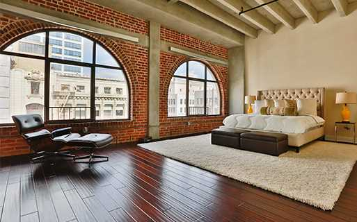 LA apartments for rent near LA Live - Brockman Lofts Beautiful historic building