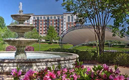 The Encore located across the street from Symphony Park Charlotte NC - Myers Park
