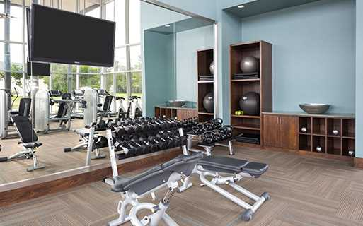ICON at Ross fitness center - Apartments near Baylor Medical Center Dallas