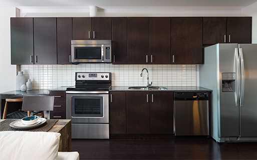 High Rise Apartment Inside victory park apartments: skyhouse dallas | dallas, texas