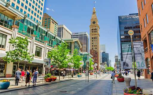 Apartments for rent in Downtown Denver - SkyHouse Denver Walking distance from 16th Street Mall