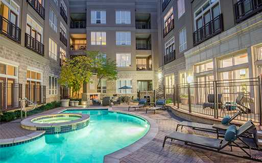 Golden Triangle Apartments for Rent - The Boulevard Apartments Swimming Pool