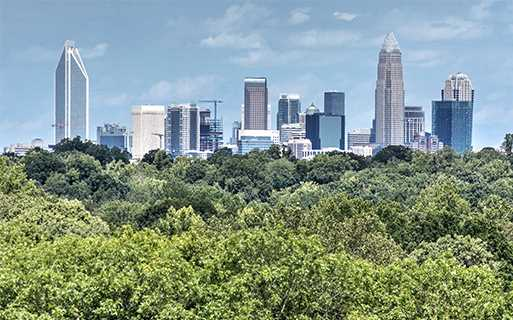 The Encore Beautiful views of Uptown Charlotte NC - SouthPark