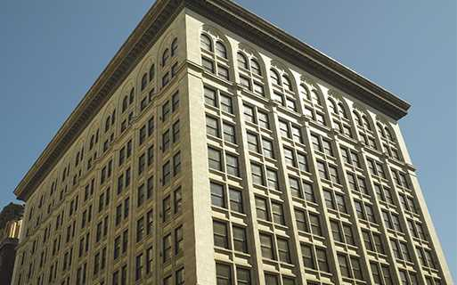 Historic Core apartments in downtown LA - Lofts At Security Building Grand Lobby with concierge