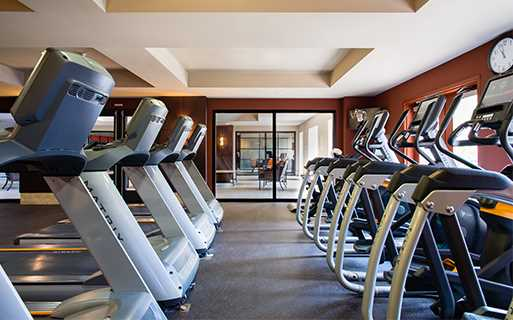 Cabrillo Heights Park apartments for rent in San Diego - Mira Bella 24 hour fitness center
