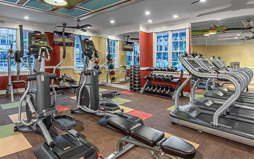 Apartments for rent near Sugarloaf, GA - Artisan Station Apartments Fitness Center