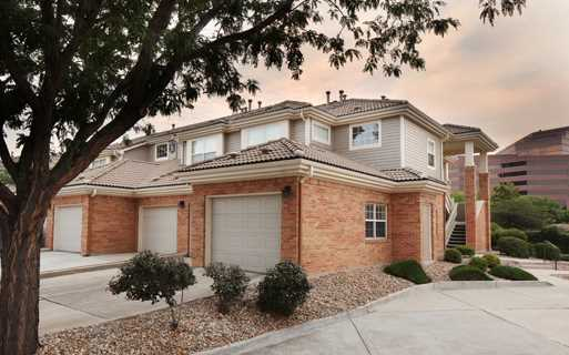 Carriage Place Private attached garage with every home Denver CO - apartments belleview and i25