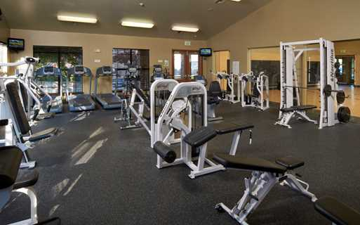 Apartments for rent in the Cherry Creek School District - Coyote Ranch Fitness center with indoor basketball court