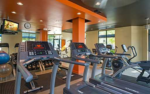 Orenco Station Apartments in Hillsboro, OR - Nexus Fully Equipped Fitness Center