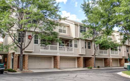 Carriage Place Private attached garage with every home Denver CO - Greenwood Village