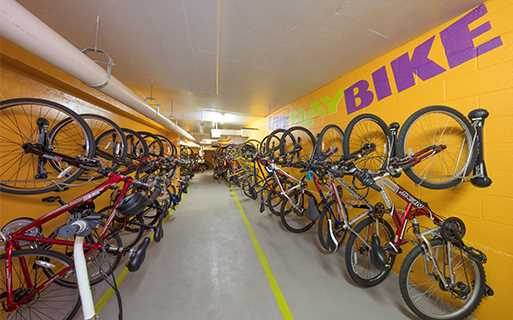 Pearson Square Apartments - Falls Church, VA - bike storage