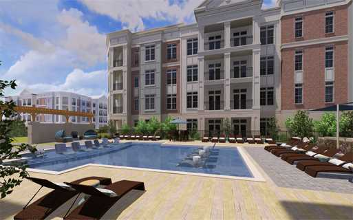 Apartments near Waverly Charlotte - The Links Rea Farms - Pool