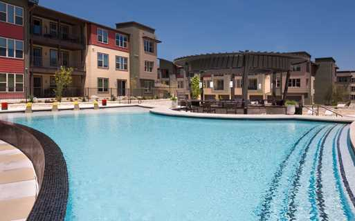 The Domain apartments - Addison at Kramer Station pool