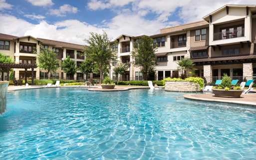 StoneLedge Apartments - Resort style pool - Coppell Apartments