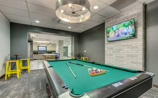 Westlake apartments for rent near Google - Neptune Billiards table in Wi-fi lounge
