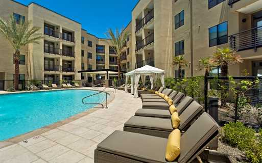 Apartments In Arcadia Az   Citrine Resort Style Heated Pool And Spa With  Sauna