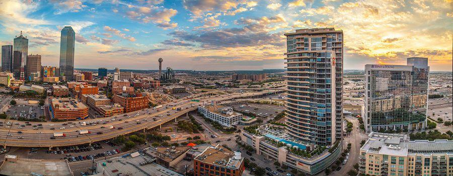Victory Park Apartments Dallas Texas Skyhouse Dallas