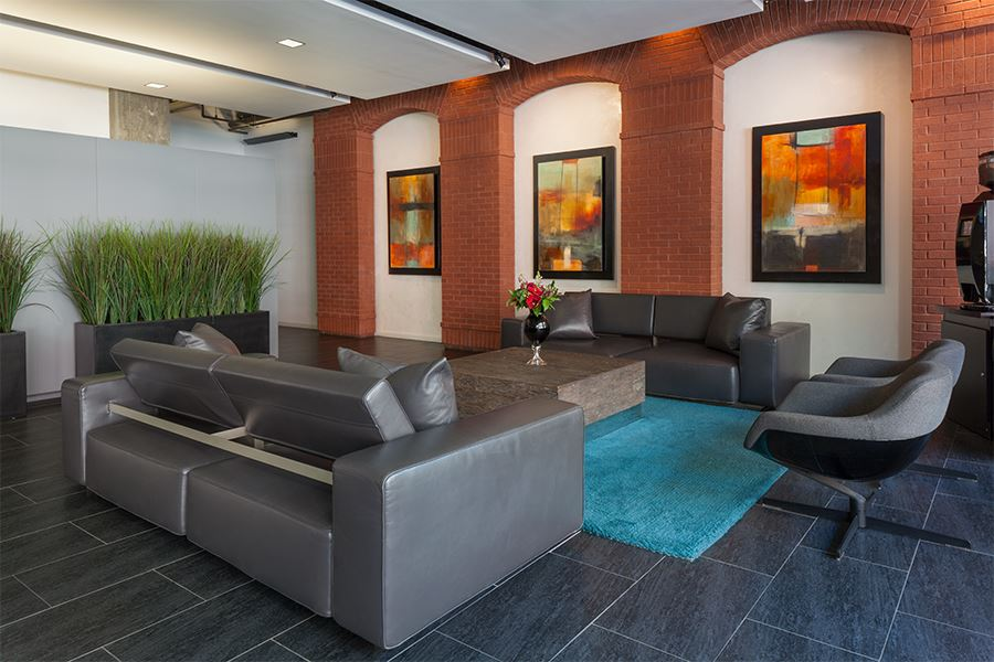 A Hotel Style Lobby Greets You, Along With Free Starbucks® Coffee And Tea