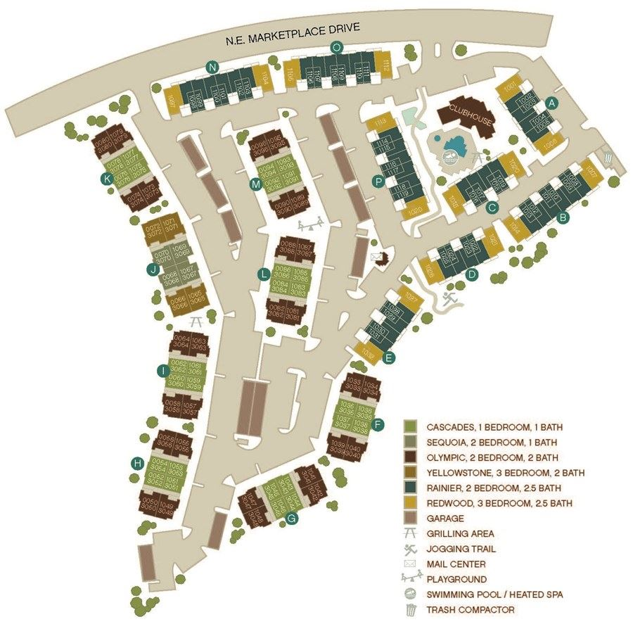 Apartments By Map: The Lodge At Redmond Ridge