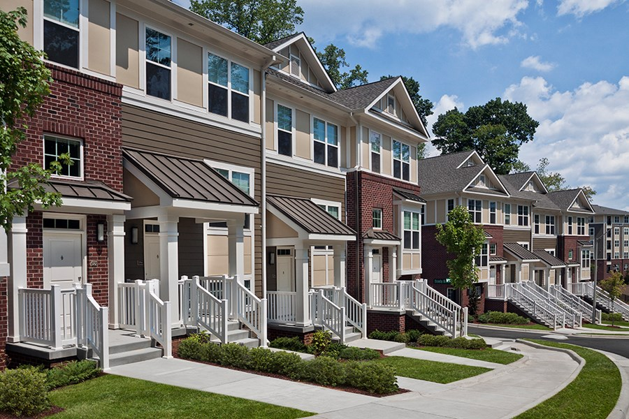 Raleigh Nc Apartments On The Greenway Marshall Park Apartments Townhomes Gallery