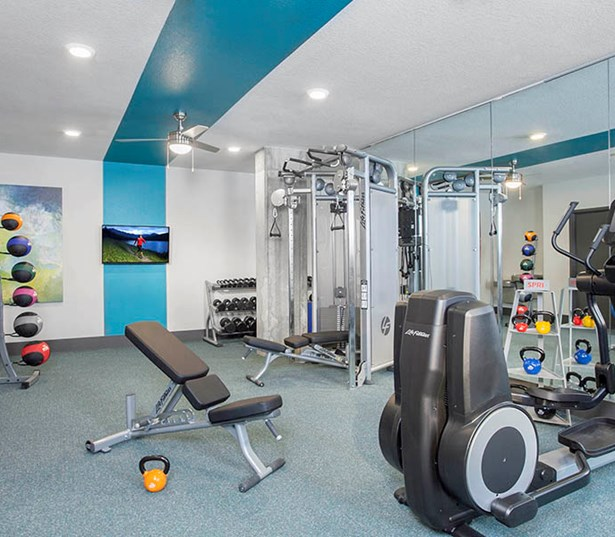 Studio LoHi Apartments - Fully equipped fitness center Denver CO - LoHi Apartments