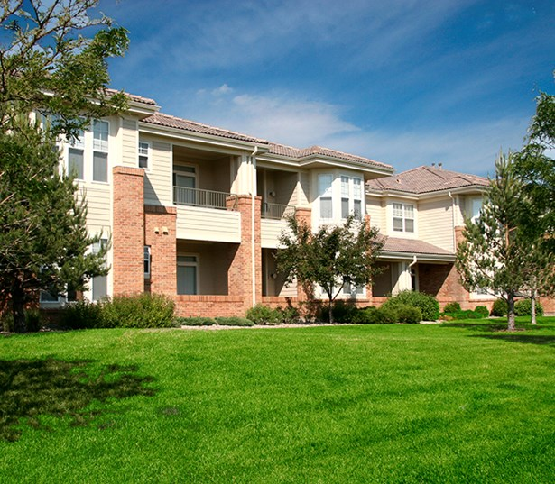 Apartments near Lone Tree - The Meadows At Meridian Surrounded by lush landscaped grounds