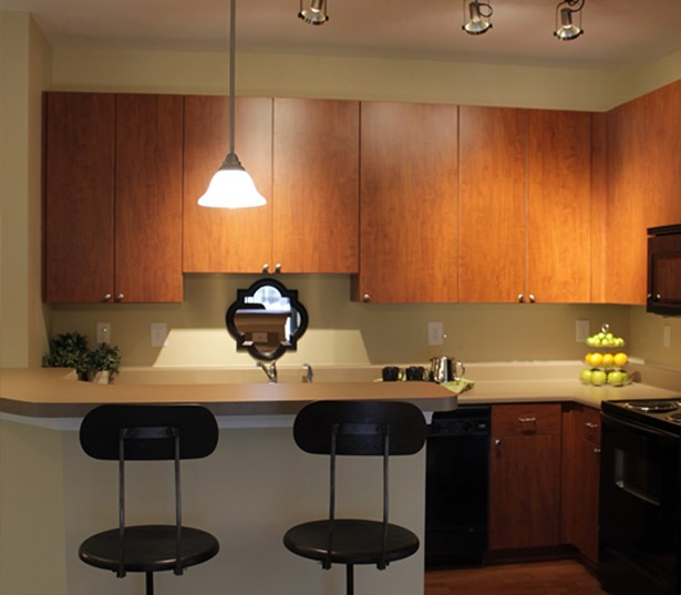 Berkeley Hills Country Club apartments in Duluth - Menlo Creek Chefs kitchen many with islands