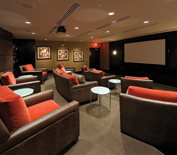 The Reserve At Tysons Corner Private screening room Vienna VA - Mosaic District