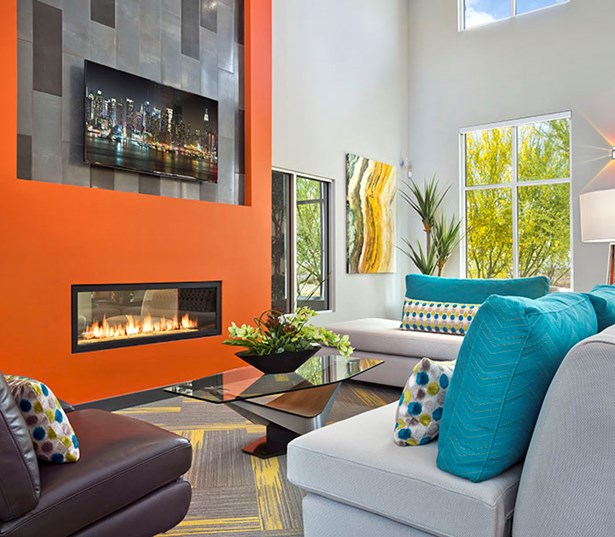 Luxury apartments in north Scottsdale az - Avion on Legacy Resident Lounge