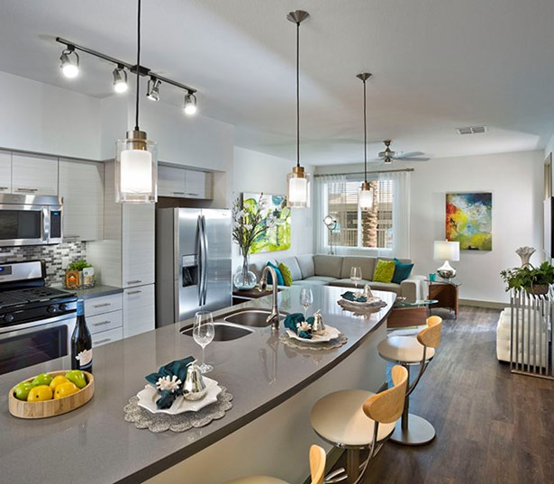 North Scottsdale luxury apartments - Avion on Legacy Kitchen with high-end finishes