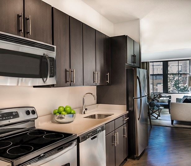 14W Kitchen with stainless steel appliances - Washington, D.C. - North Shaw
