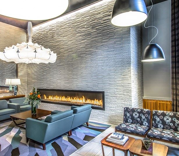 14W Lobby with 24 hour full service concierge - Washington, D.C. - U Street Corridor