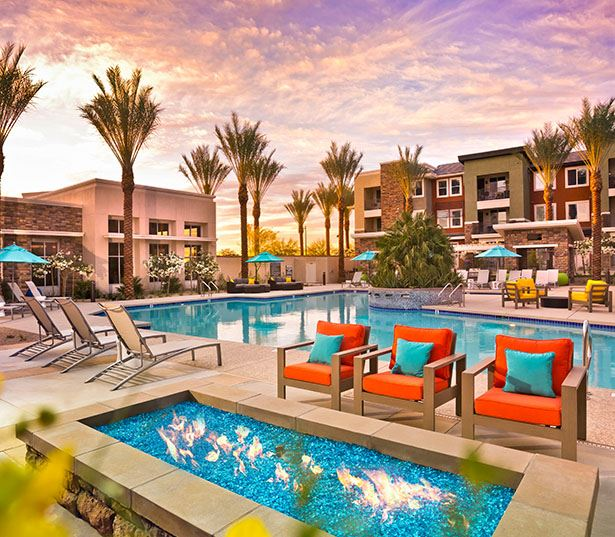 Avion on Legacy apartments for rent near Mayo Clinic Phoenix - Pool and Spa Virtual Tour
