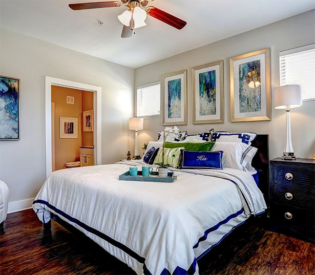 Apartments for rent near Sugarloaf, GA - Artisan Station Apartments Bedroom