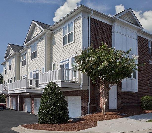Cary Apartments in RTP - Chancery Village Townhomes with private entry garages available
