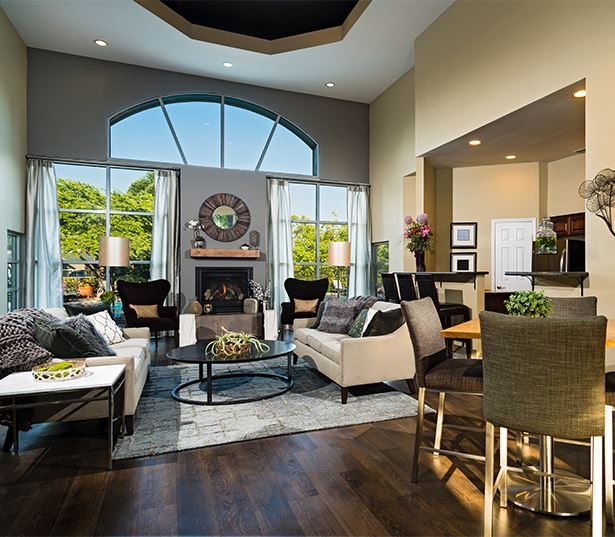 West Linn OR Apartments near Lake Oswego - Cascade Summit - Resident clubhouse