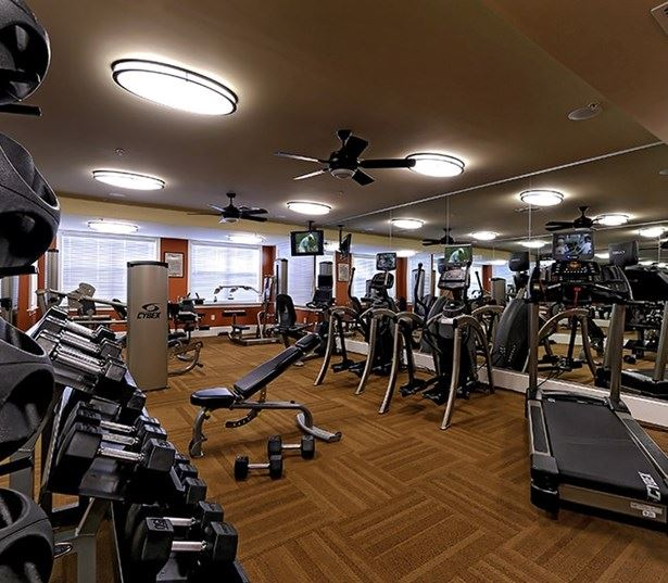 Cary Apartments for rent in Southpoint - Chancery Village State of the Art Fitness Center