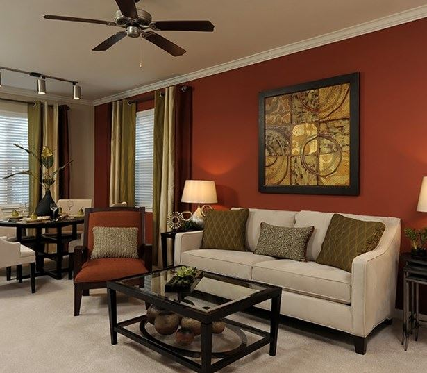 Parkside Apartments in Research Triangle Park - Chancery Village Spacious living room interiors