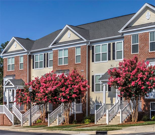 Chancery Village apartment rental in cary - Two bedroom townhomes available