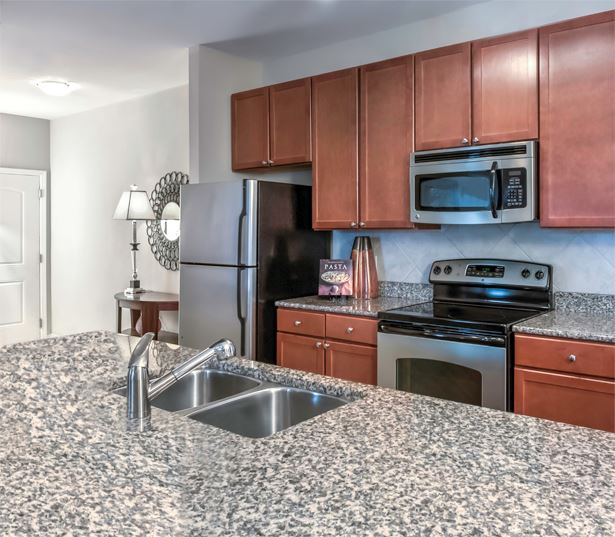 apartments near rdu airport - Chancery Village open kitchens